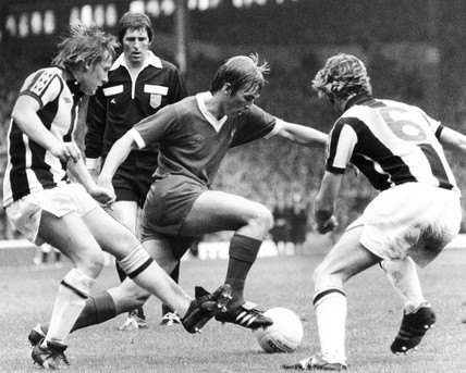 Liverpool v West Bromwich Albion, 23 August 1977.