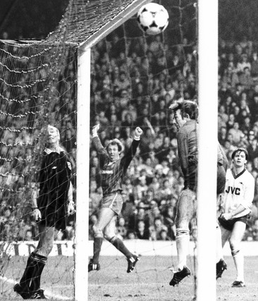 Liverpool v Arsenal, 12 February 1984.