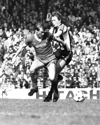 Liverpool's Kenny Dalglish, 17 April 1982.