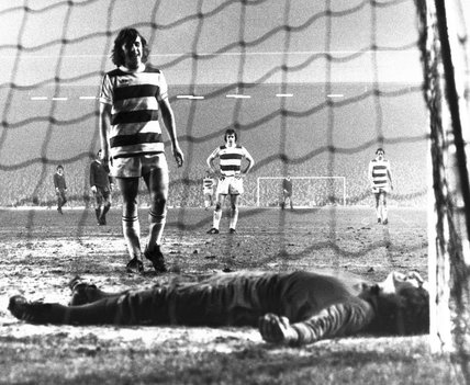 Liverpool v Queens Park Rangers, 13 December 1976.
