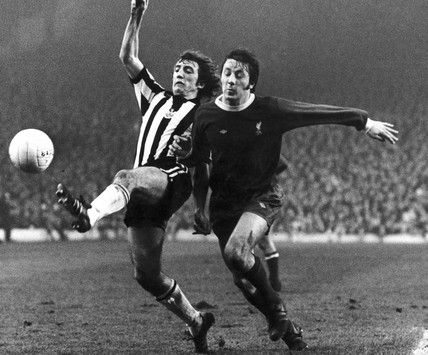 Newcastle v Liverpool, 21 February 1976.