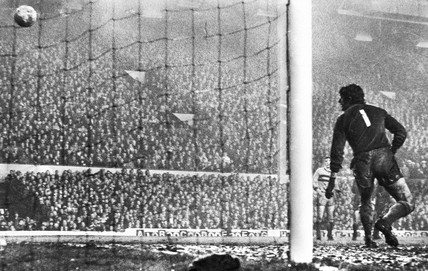 Liverpool goal, 28 November 1971.