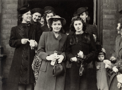 Group of women, 1940s.