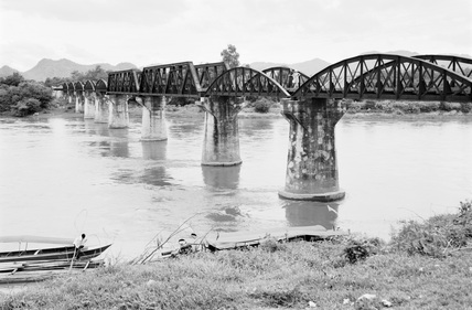 River Kwai, about 1955