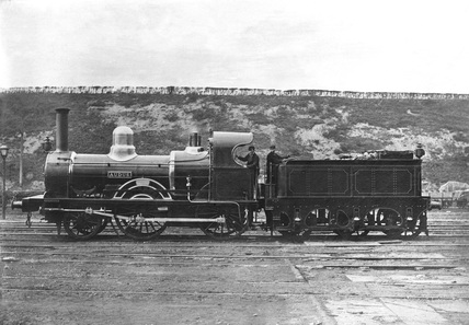 2-4-0 Locomotive, about 1905