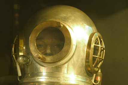 Deep-sea diver, Science Museum, London, 2007.