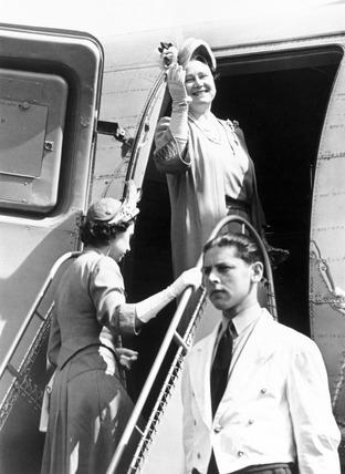 Queen Elizabeth, mother of Queen Elizabeth II, 8 June 1951.