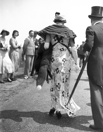 Fashions at the Royal Ascot Races, Berkshire, 14 June 1932.