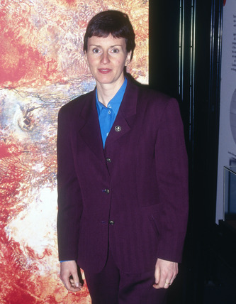 Helen Sharman, English cosmonaut, 1998.