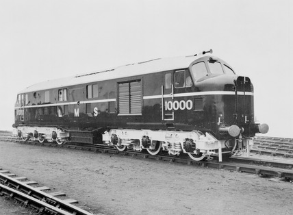 Three photographs of London, Midland & Scotyish locomotive.
