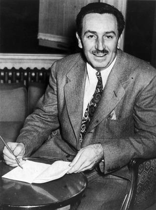 Walt Disney at his London hotel, 19 November 1946.