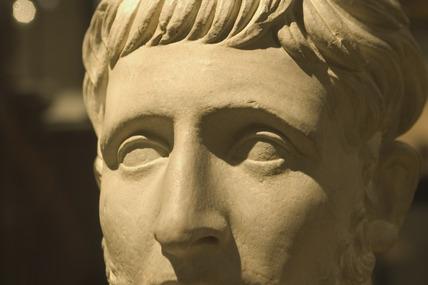 Sculpture of Marcus Modius Asiaticus, Roman, 2nd century AD.