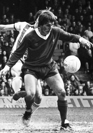 Kenny Dalglish, March 1980.