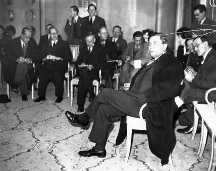 Wendell Wilkie, American envoy , 27 January 1941.