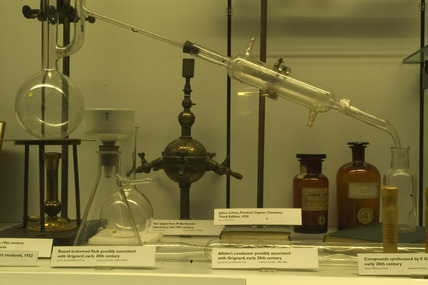 Chemical apparatus, late 19th century.