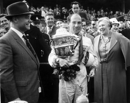 Stirling Moss, English racing driver, April 1960.