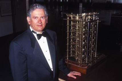Raymond Khan, internet pioneer, 1996.