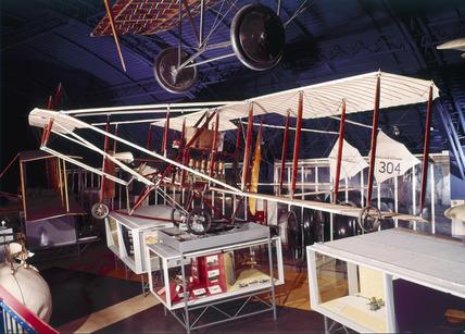 Cody Biplane, 1909.
