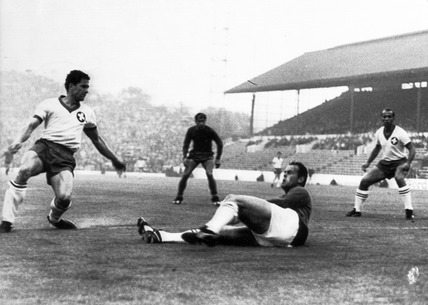 Spain v Switzerland, World Cup, Sheffield, 15 July 1966.