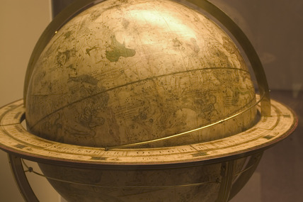 Celestial globe, Science Museum, London, 2007.
