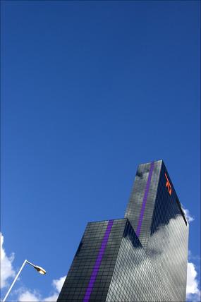 Nationale Nederlanden Building, Rotterdam, Netherlands, 2007.