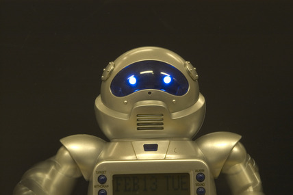 Toy robot, Science Museum, London, 2007.