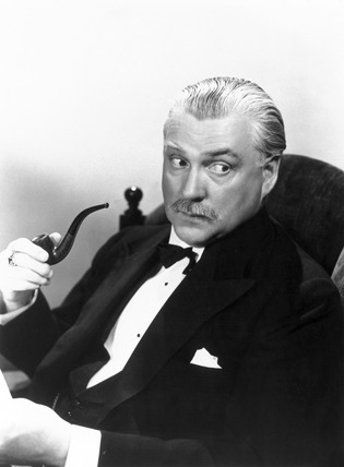 Nigel Bruce, British actor, 1943.