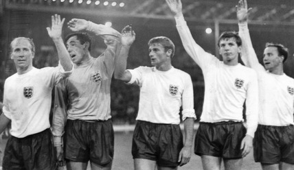 England squad, World Cup, July 1966.