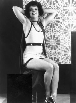 Clara Bow, American actress, 1938.