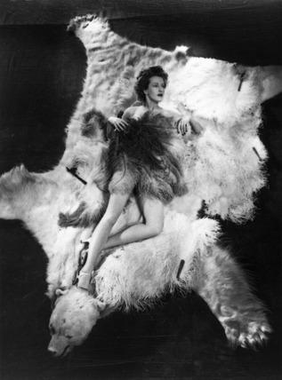 Ann Crawford, 1944.