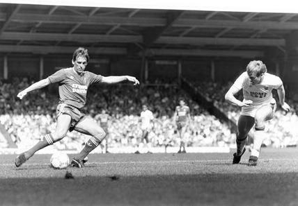 Kenny Dalglish, April 1987.
