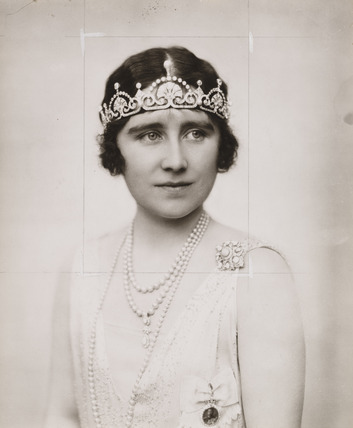 Portrait of Elizabeth, the Duchess of York, 1920s.