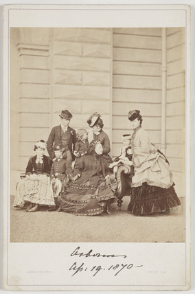 The Royal Family at Osborne, 19 April 1870.