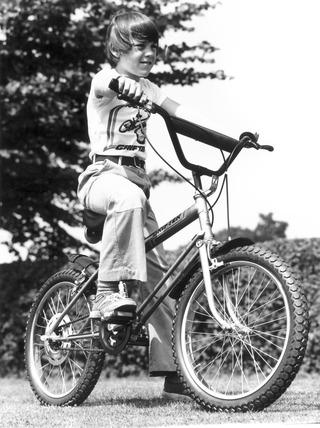 Raleigh 'Grifter' bike, 1976.