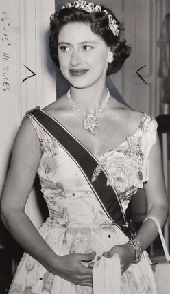 Princess Margaret, 1955.