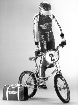 BMX bike, October 1982.