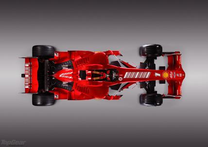 Ferrari F2008.