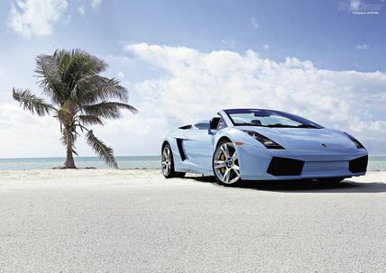 Lamborghini Gallardo Spider.