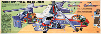 Dan Dare – World's First Vertical Take-Off Airliner