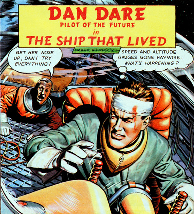 The Dan Dare Comic Strip Experience – Panel Five