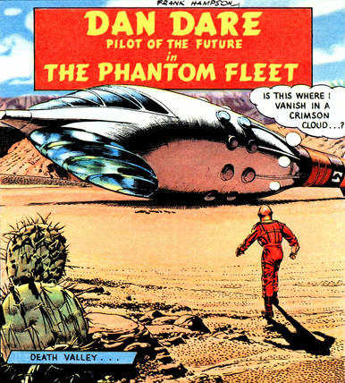 The Dan Dare Comic Strip Experience – Panel One