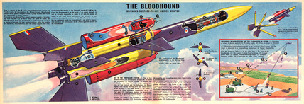 Dan Dare – 'The Bloodhound' Rocket