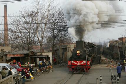 Pingdingshan Mine Railway, Henan province, China, 2005