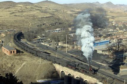 Nanpiao Colliery Railway, Liaoning, China, 2004