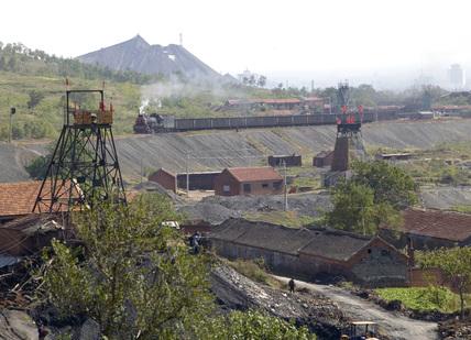 Pingdingshan colliery, Henan province, China, 2003