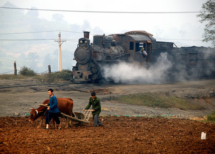 Yiangho Railway coal train, Henan province, China, 2007