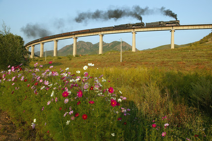 Symingyi viaduct, Jitong line, China, 2004