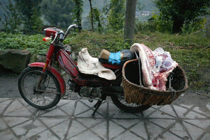 Near Bagou market, Sichuan province, China, 2003