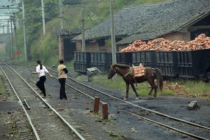 Weijin, Baishi Railway, Sichuan province, China, 2003