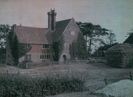 An Old Sussex Farm, c 1910-1915.